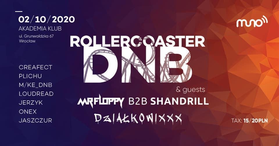 rollercoaster dnb floppy shandrill wroclaw