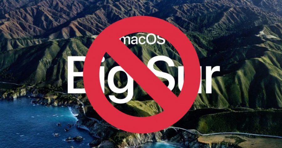 MacOs Big Sur - falstart Apple