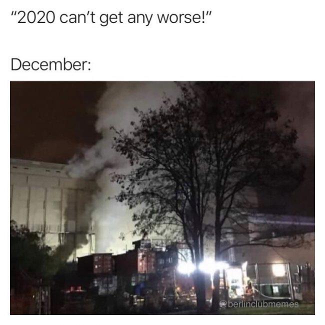 Berghain pożar