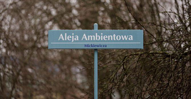 Aleja Ambientowa w Białymstoku już otwarta!
