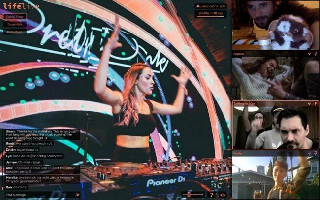 platforma lifelive io. umożliwia wspólne przeżywanie koncertów online