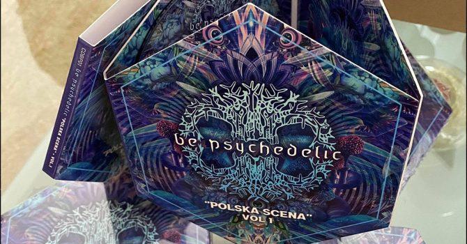 """Fantastycznie wydana składanka """"Be Psychedelic – Polska Scena Vol 1"""" jest już w sprzedaży"""