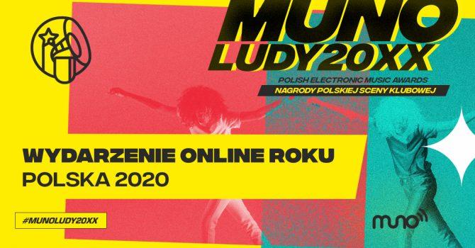 Munoludy 20XX – Wydarzenie Online Roku Polska 2020 – oto nominacje!