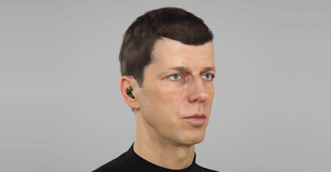 Dixon jako awatar 3D. Pierwszy taki live stream