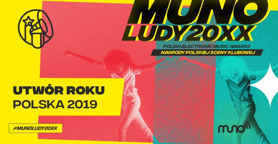 Munoludy 20xx Utwór Roku Polska 2019 wyniki