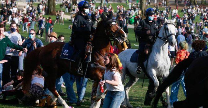 Belgia. Policja rozbiła nielegalny festiwal