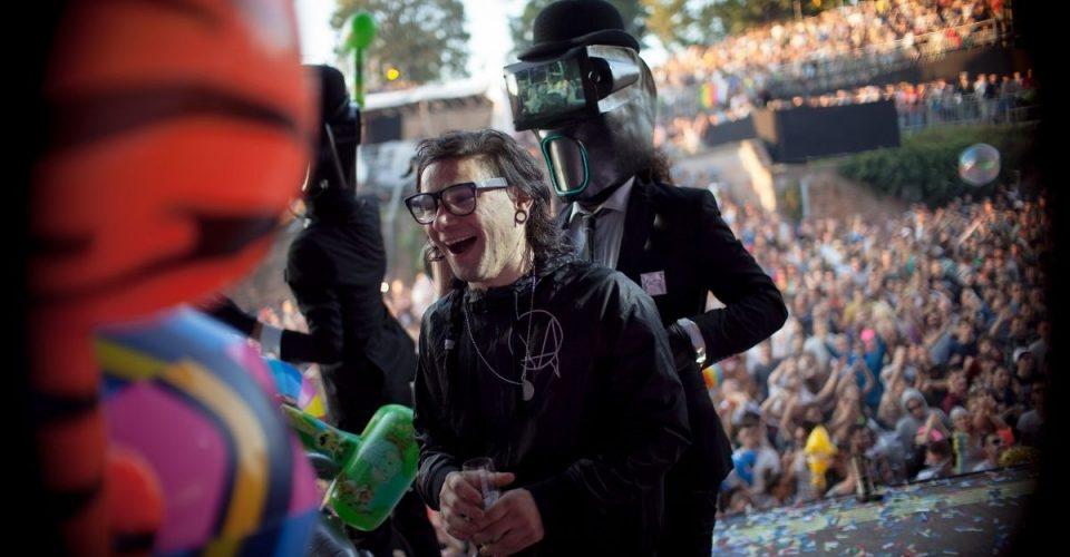 Skrillex na EXIT Festival 2014