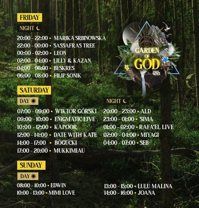 Garden of God bilety