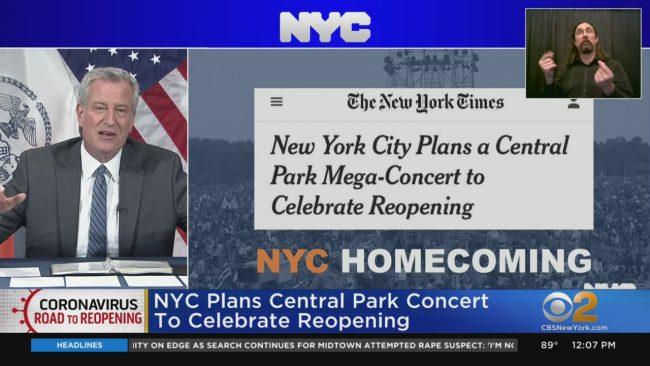 Central Park, Nowy Jork, Festiwal,