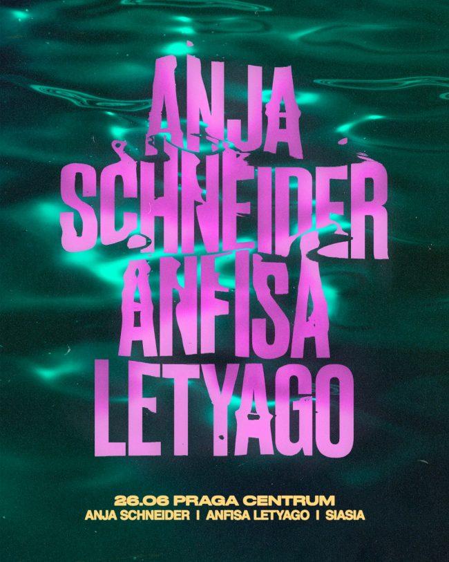 Praga Centrum imprezy Anja Schneider Anfisa Letyago
