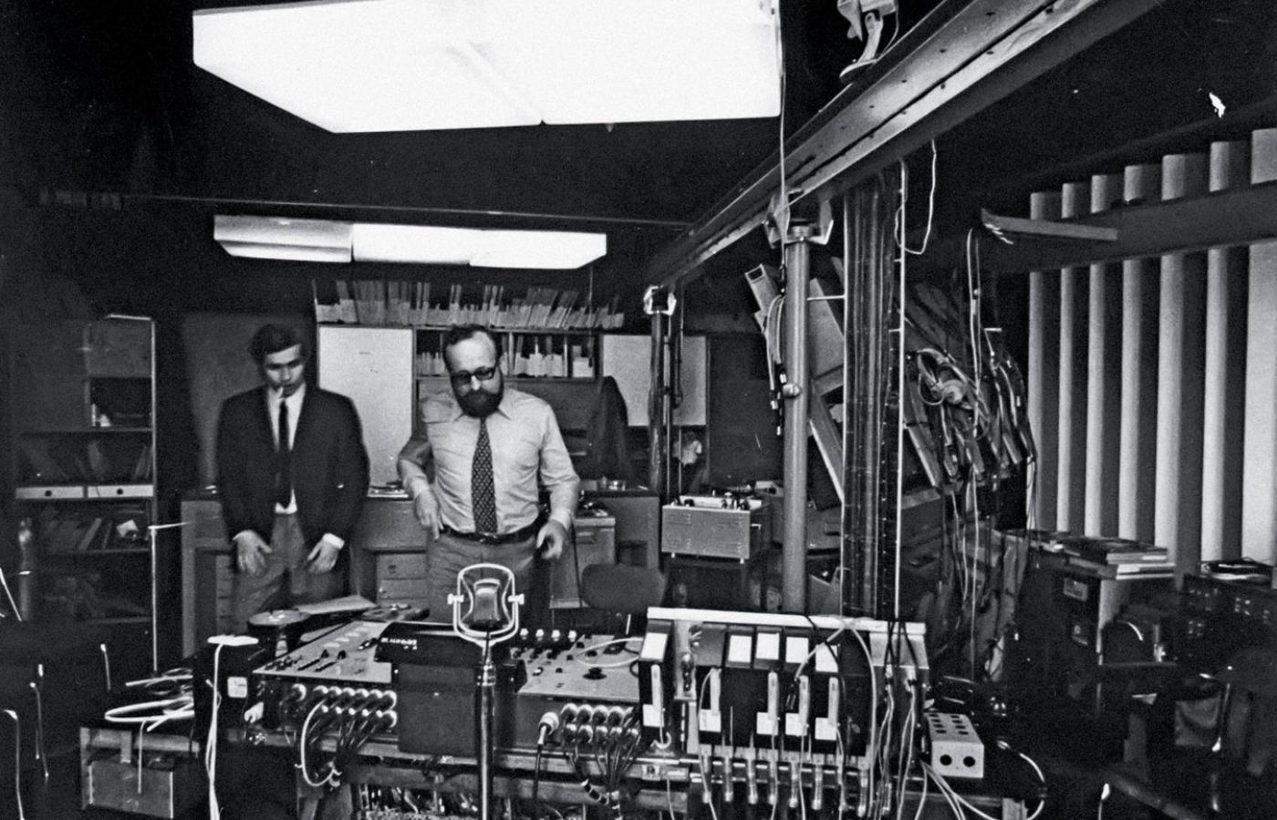 Krzysztof Penderecki i Eugeniusz Rudnik - Fot. Andrzej Zborski