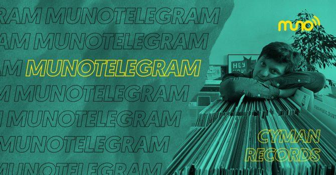 """Muno Telegram: Cyman Records: """"Chciałbym, aby ludzie kupowali płyty w Polsce"""""""