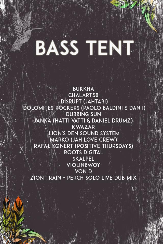 Bass Tent - Rafał Konert - Positive Thursdays Bass Tent