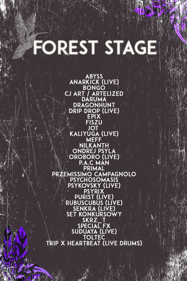 Forest Stage LAS Festival 2021 line-up