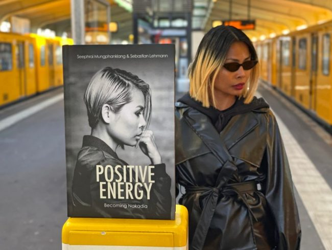 Nakadia autobiografia Positive Energy
