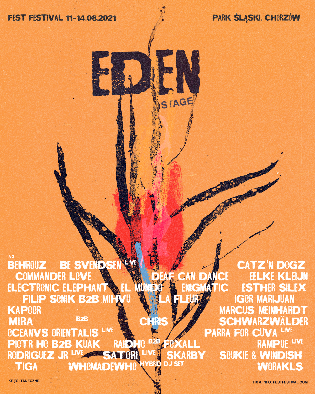 Fest Festival 2021 z nową elektroniczną sceną Eden