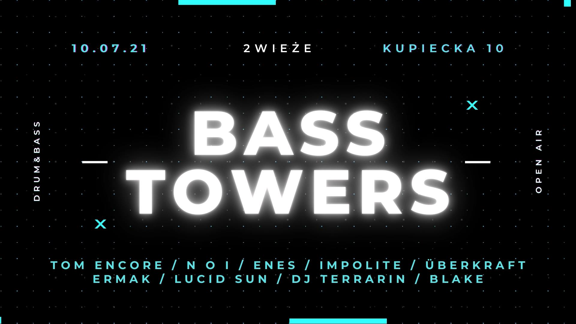 bass tower warszawa waraw drumnandbass dnb