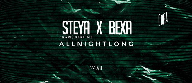 Steya i Bexa Odranadonocy bilety