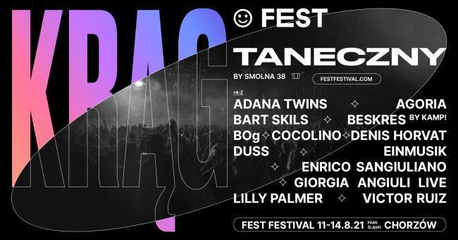 Fest Festival elektroniczny line up