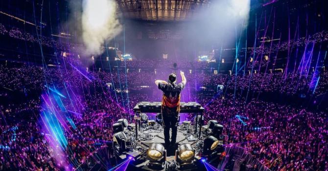 W Las Vegas odbył się największy solowy występ basowego DJ'a w historii