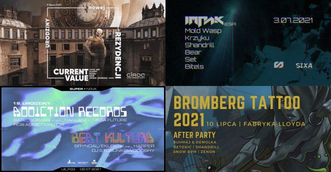 Kalendarz imprez drum&bass na lipiec 2021