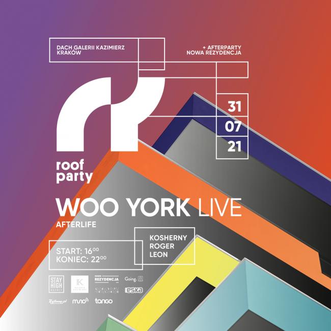 Roof Party Nowa Rezydencja Woo York bilety