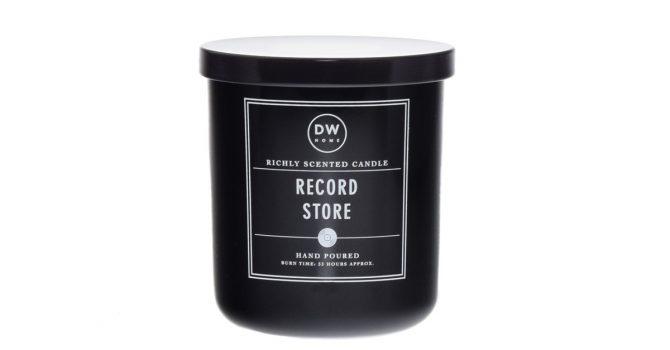 Świeca o zapachu… sklepu z płytami winylowymi