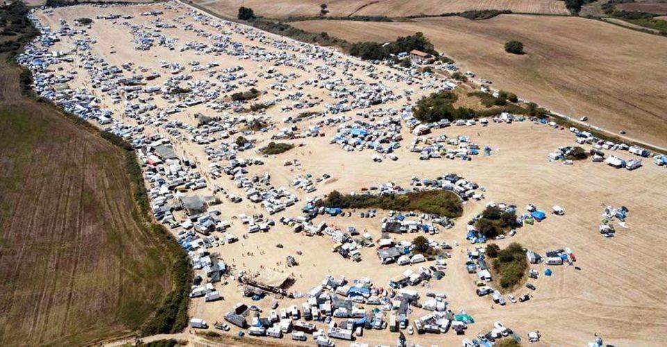 Włochy - rave na kilka tysięcy osób