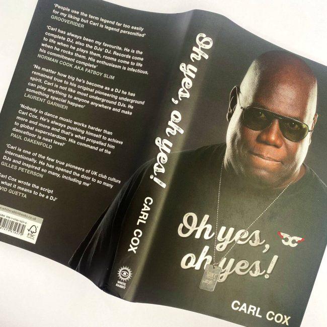 Carl Cox autobiografia
