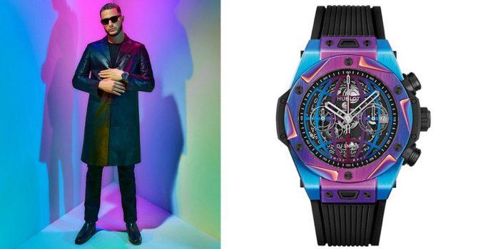 DJ Snake sygnuje swoim imieniem szwajcarski zegarek. Zbędny luksus?