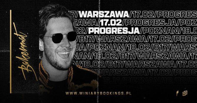 Bakermat / 17.02.22 / Progresja, Warszawa